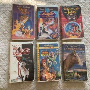 Walt Disney VHS VERSION FRANÇAISE